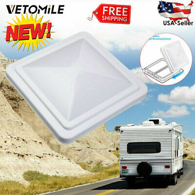 "14""x 14"" Universal Replacement RV Roof Vent Lid Cover Trailer Ventline Motorhome"