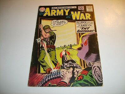 DC Our Army At War #105   FN/FN+  1961