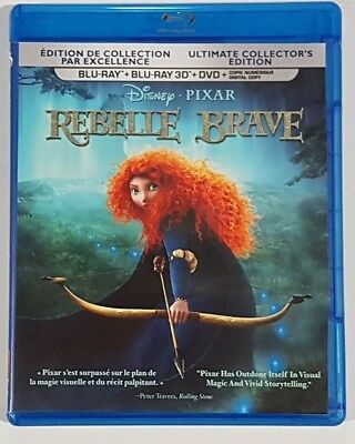 Brave Disney Pixar Blu-ray 3D Only