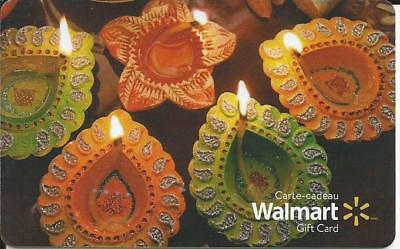 New Candles 2017 Mint Gift Card From Walmart Canada Bilingual No Cash Value