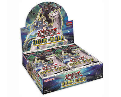 Yu-Gi-Oh Trading Card Game Shadows Over Valhalla Booster Box PRE-ORDER
