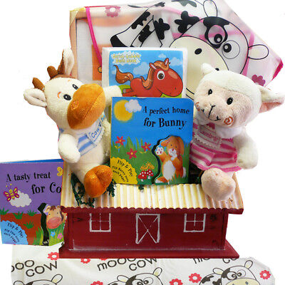 Fun on the Farm Baby Gift Basket