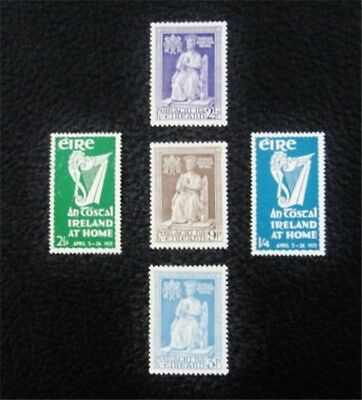 nystamps British Ireland Stamp # 142//148 Mint OG H $57