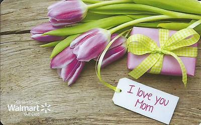 New I Love You Mom 2016 Mint Gift Card From Walmart Canada Bilingual