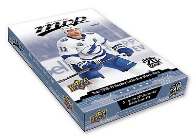 2018-19 Upper Deck MVP Hockey Hobby Box New/Sealed