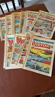 Collection of Victor Comics x 25 All from 1973 - lots of Consecutive issues