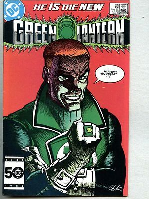 Green Lantern #196-1986 fn/vf Guy Gardner Crisis On Infinite Earths