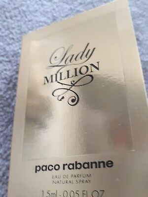Lady Million von Paco Rabanne eau de parfum als Probe