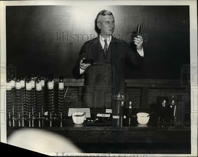1934 Press Photo Dr J.B. Rather Dir of Research for the Socony Vacuum Oil Co.