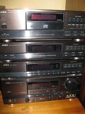 Aiwa Stereoanlage Komponenten System Equalizer Tuner CD-Player Amplifier X-D919