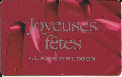 New Happy Holidays Mint Gift Card From Hbc Canada French Only No Value