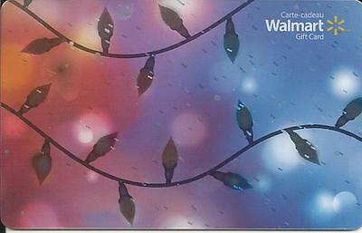 New Christmas 2016 Mint Gift Card From Walmart Canada # 1 Bilingual No Value