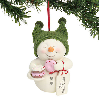 Dept 56 Snowpinions 2018 The Sweet Life Ornament #6001855 NEW FREE SHIP 48 STATE