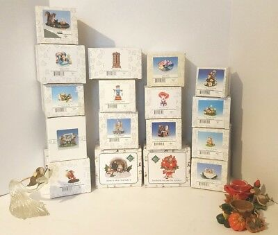 Lot Of 17 Charming Tails Figurines By Fitz And Floyed All Mint In Boxes + 3