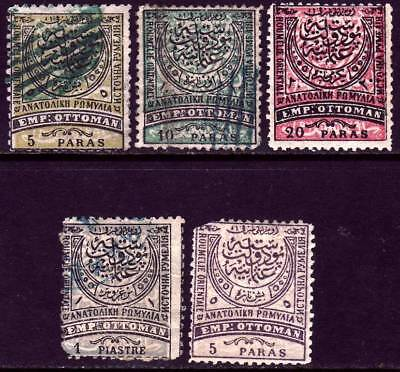 EASTERN RUMELIA valuable mint & used stamp collection!