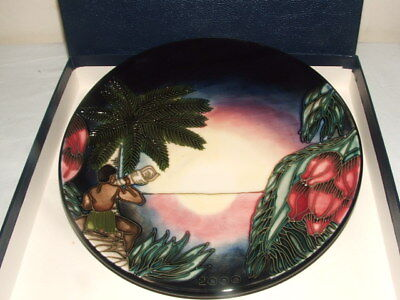 Moorcroft 1St Class Emma Bossons Birth Of Light  Plate + Box Truly Fabulous