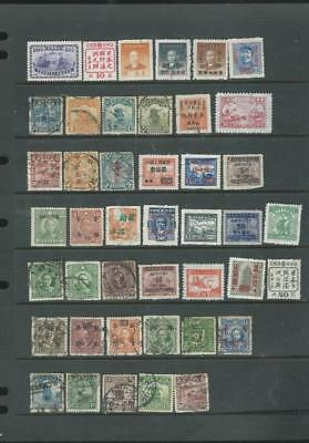 China Lot 1 mixed selection of stamps from collection  see SCAN {7105]