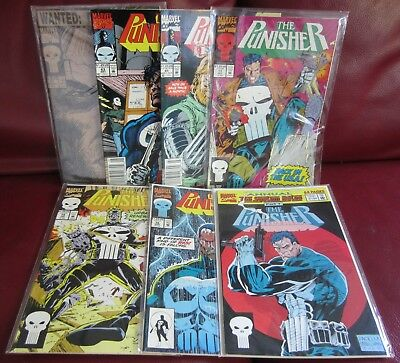 Punisher (Vol. 1) Lot - 7 Issues - VF