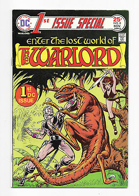 1st Issue Special No. 8 - 1st WARLORD,  Warlord No. 1 - Lot of 2, 1975-76