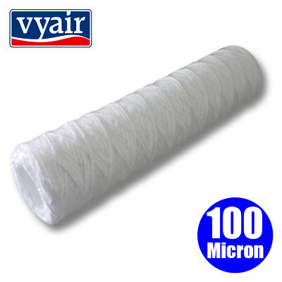 "VYAIR 10"" String Wound PP Yarn Sediment Filter for Vegetable Oil: 100 Micron"