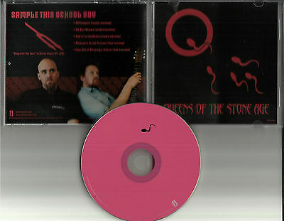 QUEENS OF THE STONE AGE Sample  this w/ 2 RARE LIVE TRX PROMO DJ CD single 2002