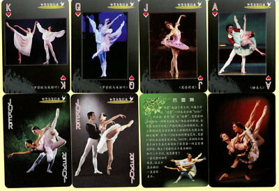 Spielkarten playing cards jeu de cartes Sonderbild China um 2000 Ballet World
