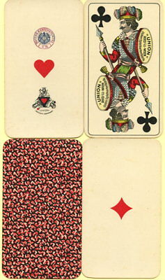 Spielkarten playing cards jeu de cartes Tarock UNION WIEN Industrie&Glück 1930?