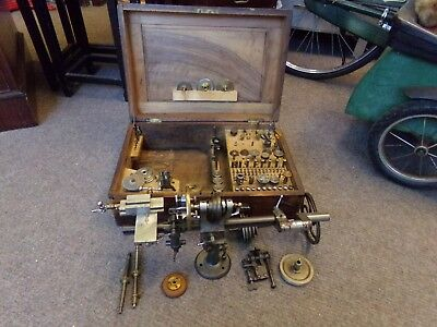 watchmakers lathe and tools