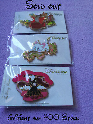 the cherry blossom girl pin MARIE, PEGASUS, FOREST FRIENDS, Disneyland Paris