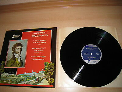 LP, The Young Beethoven,Piano Concerto,Turnabout TV 34367 S