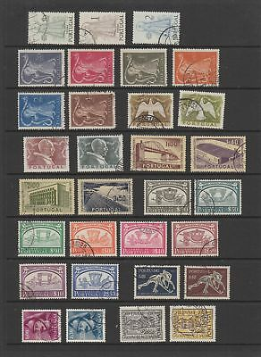 Portugal 1950 - 1956 fine used collection , 63 stamps.