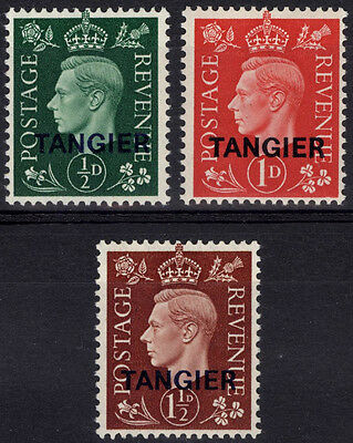 Morocco 1937 TANGIER on GB 1/2d-1 1/2d SG 245-247 Scott 515-7UMM/MNH Cat£26($42)