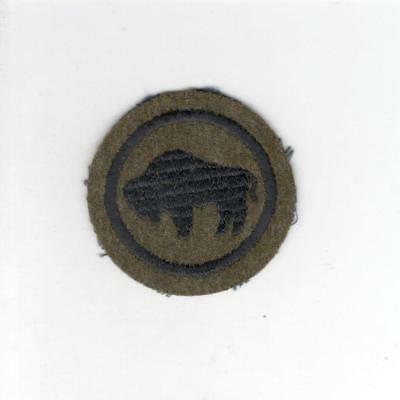Pre WW 2 US Army 92nd Infantry Division Wool Patch Inv# C149
