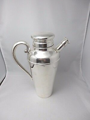 RARE Kirk 413 A sterling large cocktail shaker! No monogram and MINT