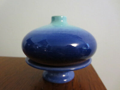 Gorgeous Glazed Pottery Incense Holder Burner Made In France