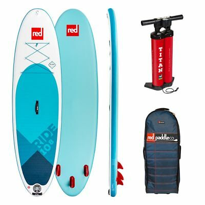 RED Ride 10,8 SUP Komplett Set Paddleboard inkl. Titan Pumpe Rucksack 2018 NEU