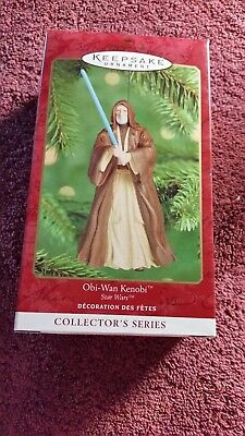 Hallmark Keepsake Ornament Star Wars Obi-Wan Kenobi 2000 NIB