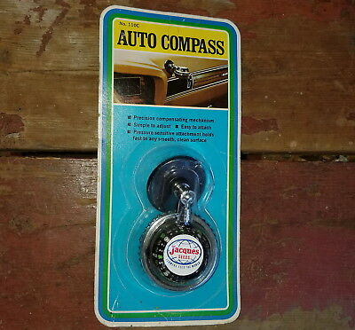 Vintage Jacques Seeds Auto Compass Hollywood Accessories Nip