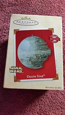 Hallmark Keepsake Ornament Star Wars Death Star 2002 NIB