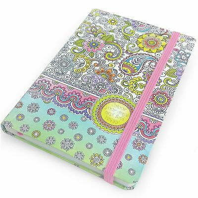 Collins - Colour Your Days - A6 Notebook - With Ruled Lines and Pages to Colour