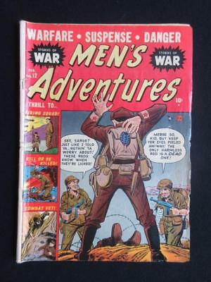 Men In Action #12 1952 - war comics, tales of The American infantry - golden age