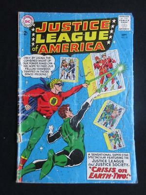 Justice League of America #22 DC 1963 -Justice Society x-over/crisis on Earth II