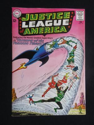 Justice League of America #17 DC 1963 - HIGHER GRADE - Adam Strange Flashback!!