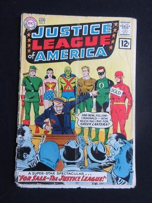 Justice League of America #8 DC 1962 - Wonder Woman, Flash, Green Lantern!!!!!