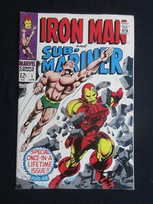 Iron Man and Sub-Mariner #1 MARVEL 1968 - HIGHER GRADE - Stan Lee comics!!!
