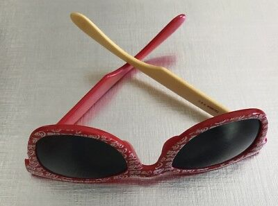 Vintage Coca Cola Sunglasses, Red with White Logo.