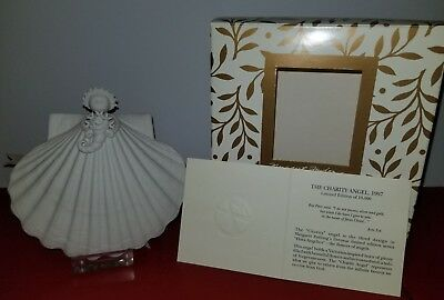 Margaret Furlong 1997 Charity Flora Angelica  Angel ornament SIGNED BY ARTIST