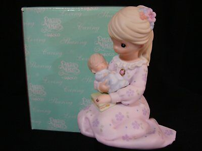 Precious Moments-A Mother's Love Is From Above-Baby-Carlton Cards Early Release