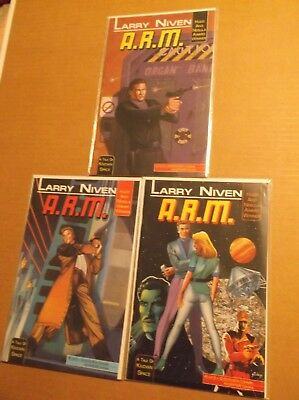 Larry Niven's A.r.m. # 1, 2, 3 Complete Set / Lot / Run