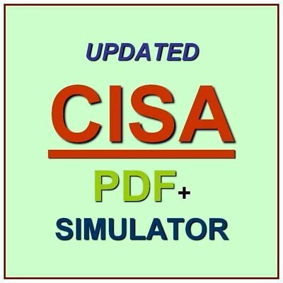 ISACA Certified CISA  Information Systems Auditor Exam Practice Test QA PDF+SIM